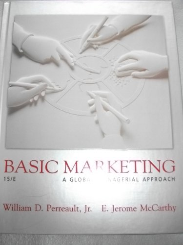 9780072525236: Basic Marketing: A Global-managerial Approach (Mcgraw-Hill/Irwin Series in Marketing)