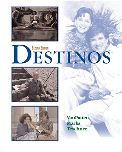 9780072525366: Destinos Student Edition w/Listening comprehension Audio CD, 2nd Edition