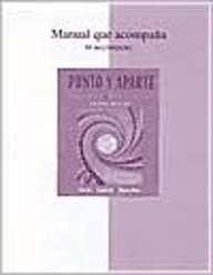 9780072525434: Workbook/Lab Manual t/a Punto y aparte