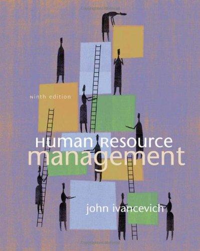 9780072525779: Human Resource Management
