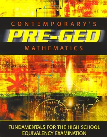 9780072527605: Contemporary Pre-GED Mathematics (Contemporary's Pre-GED Series)