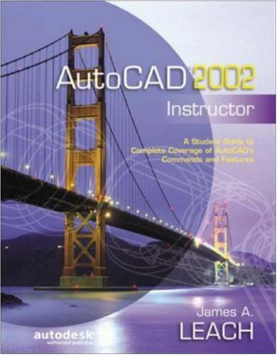 9780072528626: AutoCAD 2002 Instructor