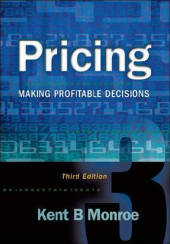 9780072528817: Pricing: Making Profitable Decisions (McGraw-Hill/Irwin Series in Marketing)