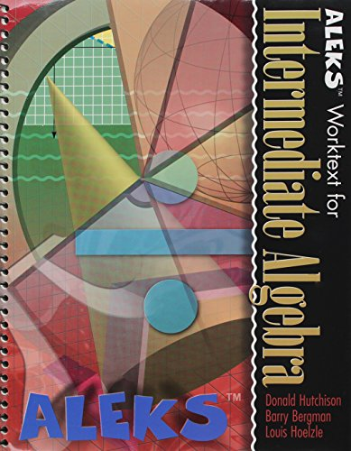 9780072530766: ALEKS Worktext for Intermediate Algebra with ALEKS User's Guide & 1-Semester Access Code