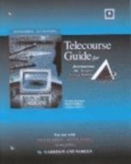 9780072531756: Telecourse Study Guide to accompany Managerial Accounting