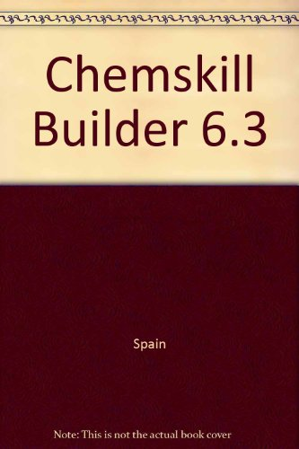 9780072532197: Chemskill Builder 2000 version 6.3: Personalized Problem Sets for General Chemistry
