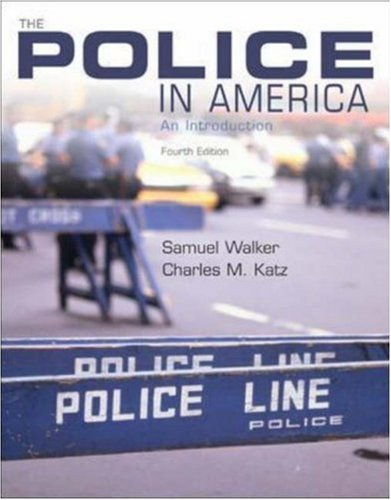 9780072532401: The Police in America: An Introduction, with PowerWeb