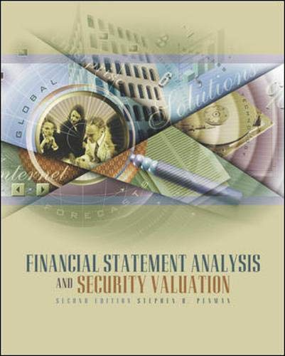 9780072533170: Financial Statement Analysis and Security Valuation