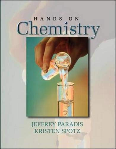 9780072534115: Hands on Chemistry Laboratory Manual
