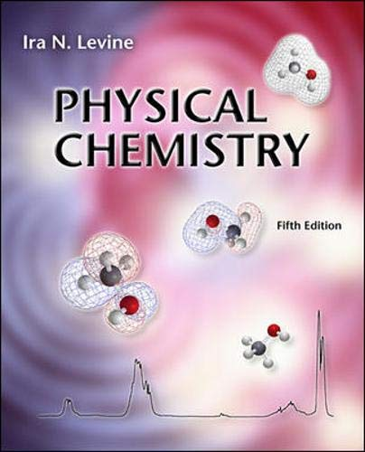 9780072534955: Physical Chemistry