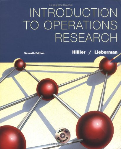 9780072535105: Introduction to Operations Research