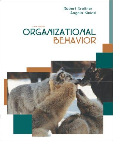 9780072535259: Organizational Behavior