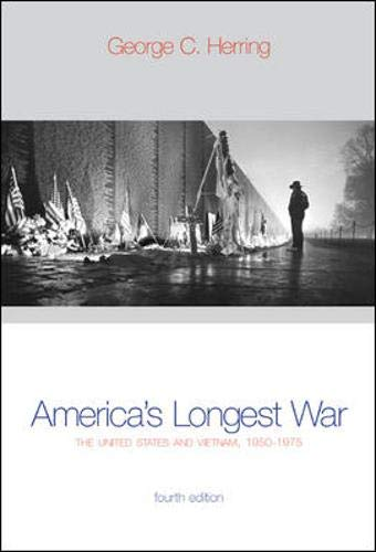 9780072536188: America's Longest War : The United States and Vietnam, 1950-1975 with Poster