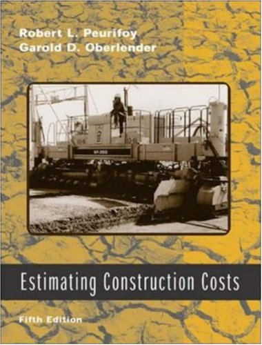 9780072536263: Estimating Construction Costs w/ CD-ROM (Construction Engineering & Project Management)