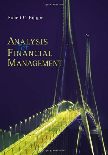 9780072536560: Analysis for Financial Management (The Mcgraw-Hill/Irwin Series in Finance, Insurance, and Real Estate)