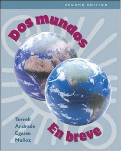 9780072536591: Dos mundos: En breve (with Listening Comprehension Audio CD)