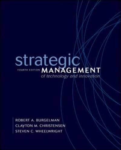 9780072536959: Strategic Management of Technology and Innovation