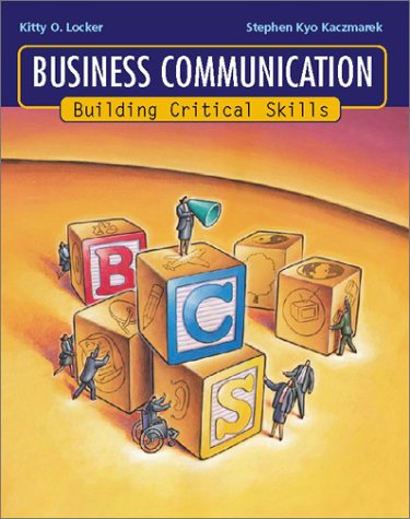 9780072537512: Business Communication: Building Critical Skills with PowerWeb and BComm Skill Booster