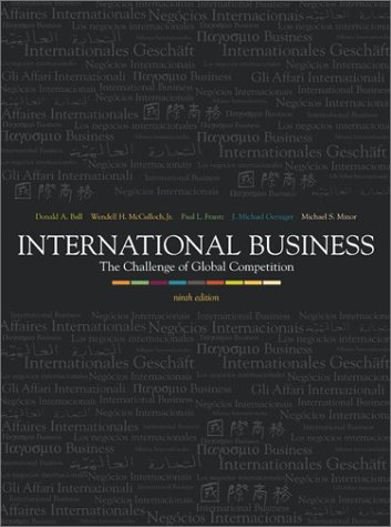 9780072537970: International Business: The Challenge of Global Competition