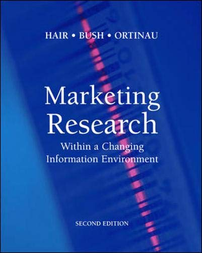 9780072538397: Marketing Research: Within a Changing Information Environment w/Data Disk Pkg