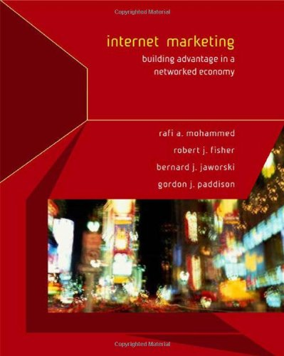9780072538427: Internet Marketing: Building Advantage in a Networked Economy