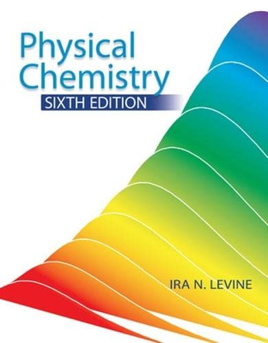 9780072538625: Physical Chemistry