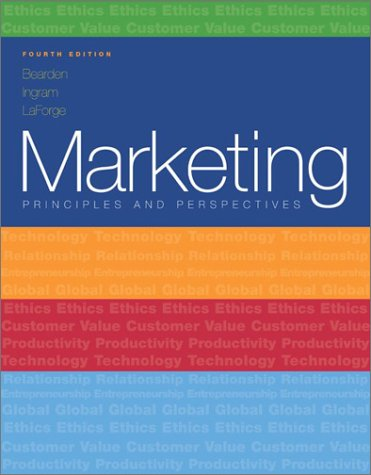 9780072539097: Marketing, Principles & Perspectives: Principles & Perspectives (Mcgraw-Hill/Irwin Series in Marketing)