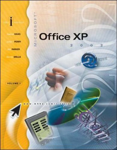 9780072539196: I-Series:  MS Office XP Volume I Expanded Version