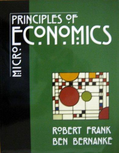 9780072539974: Principles of Microeconomics