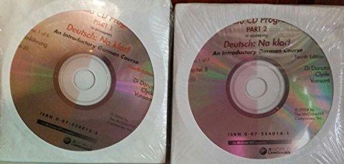 9780072540130: Deutsch: Na klar! - Audio CD Program, Part 1 (Fourth Edition)