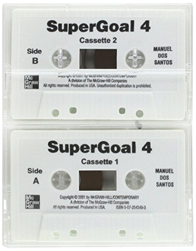 9780072543490: Super Goal - Book 4 (High Intermediate) - Audiocassettes (2): Audio Program Bk.4