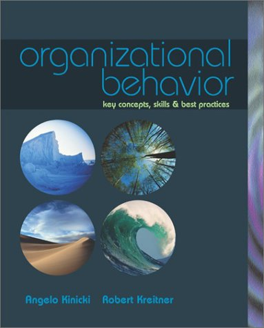 9780072545814: Organizational Behavior: Key Concepts, Skills & Best Practices with Student CD