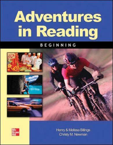 9780072546019: Adventures in Reading Beg SB