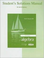 9780072546262: Student's Solutions Manual for use with Elementary Algebra