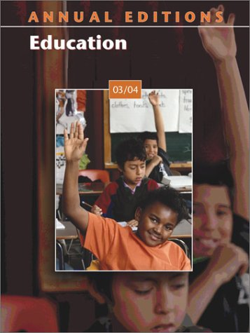 9780072548419: Annual Editions: Education 03/04