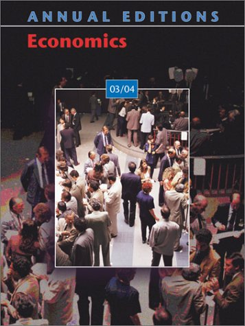9780072548457: Annual Editions: Economics 03/04