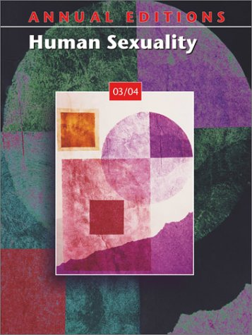 9780072548549: Annual Editions: Human Sexuality 03/04
