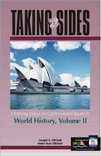 9780072548570: Taking Sides: Clashing Views on Controversial Issues in World History, Vol. 2