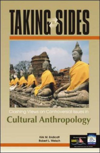 9780072548631: Clashing Views on Controversial Issues in Cultural Anthropology (Taking Sides)