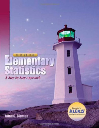 9780072549072: Elementary Statistics: A Step by Step Approach
