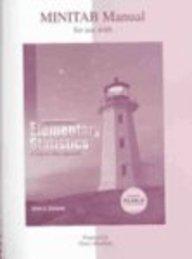 9780072549089: Minitab Manual t/a Elementary Statistics