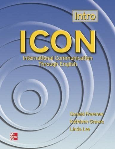 9780072550344: ICON: International Communication Through English - Intro SB