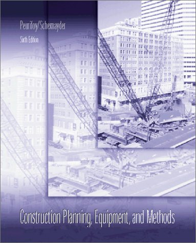9780072551310: Construction Planning, Equipment and Methods