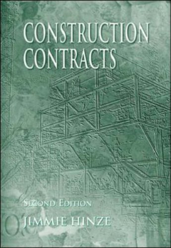 9780072551693: Construction Contracts with Engineering News Record 'MP'