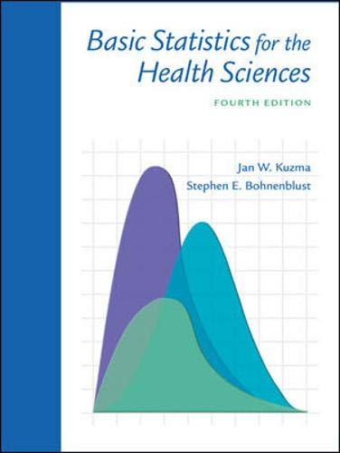 9780072552294: Basic Statistics for the Health Sciences with PowerWeb