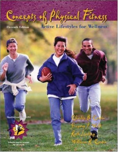 9780072552393: Concepts of Physical Fitness: Active Lifestyles for Wellness with HealthQuest 4.1 CD-ROM and PowerWeb/OLC Bind-in Passcard