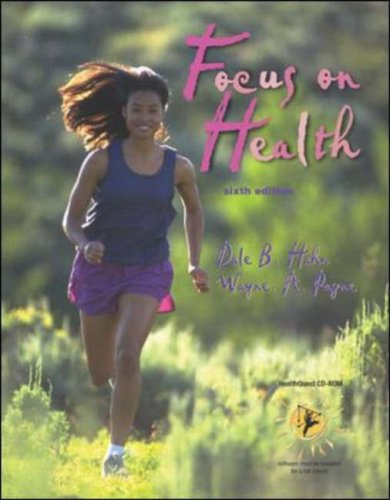 9780072552423: Focus on Health with HealthQuest 4.1 CD-ROM, Learning To Go: Health, Making the Grade CD & PowerWeb/OLC Bind-in Passcard