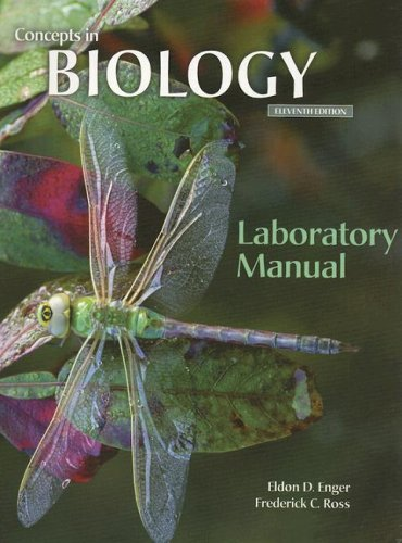 9780072552904: Lab Manual to accompany Concepts In Biology