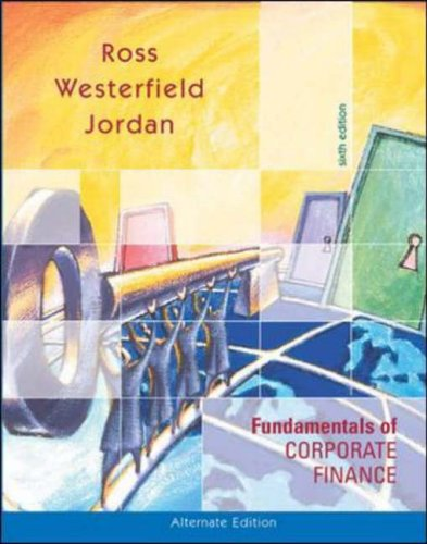 9780072553079: Fundamentals of Corporate Finance: With Student CD ROM+ PowerWeb + Standard & Poor's Educational Version of Market Insight
