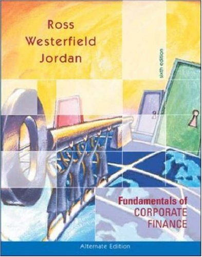 9780072553079: Fundamentals of Corporate Finance Alternate Edition w/Student CD ROM+ Powerweb + Standard & Poor's Educational Version of Market Insight